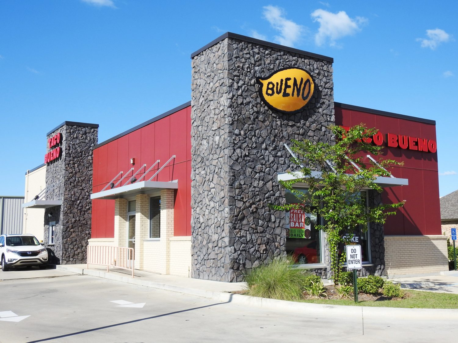 Taco Bueno Commercial Stone and Stucco Work Mias Stucco Shreveport